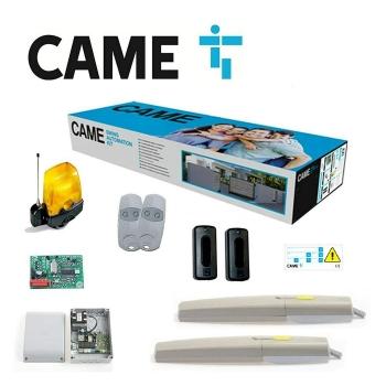 CAME portão de duas folhas 300Kg 3mt 24Vdc Kit 8K01MP-006