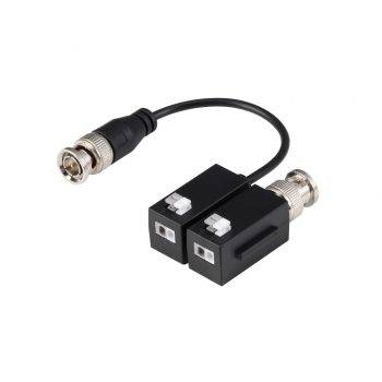 2 transceptores de vídeo HDCVI / HDTVI / AHD / CVBS passivos Dahua 1 canal transmissão em tempo real até 4K (CVI) PFM800B-4K