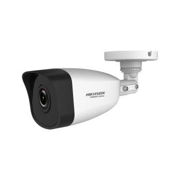 Cámara bullet IP Serie HiWatch™ de HIKVISION® de 2MP con iluminación infrarroja 30m, apta para exterior HWI-B121H