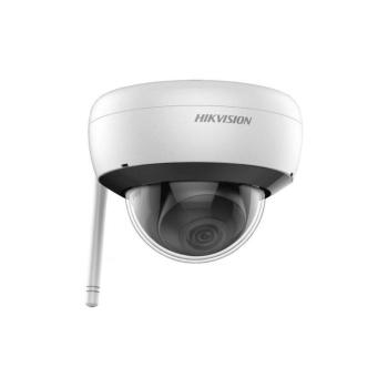 Domo IP WiFi HIKVISION® 2MP fixo com iluminação infravermelha de 30m, adequado para ambientes externos