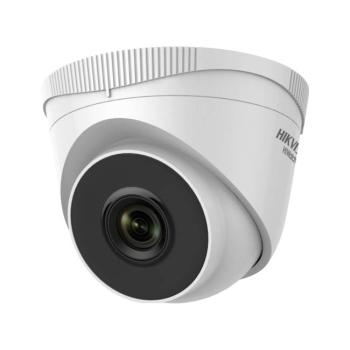 Domo fixo IP da série HIKVISION® 2MP HiWatch ™ com iluminação infravermelha de 30m adequado para ambientes externos HWI-T221H