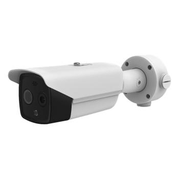 Imagem térmica HYUNDAI NEXTGEN + câmera bullet visível para medição da temperatura corporal