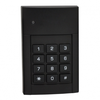 Leitor de proximidade EM com teclado para controle de acesso de exterior