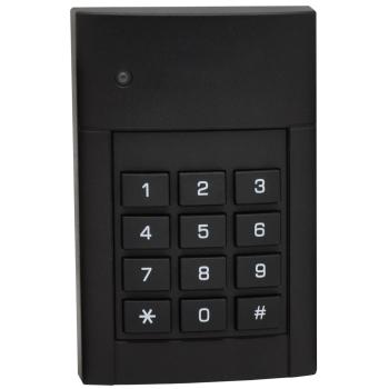 Leitor de proximidade MIFARE com teclado para controle de acesso, externo