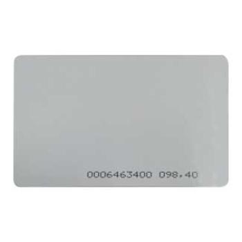 Cartão de proximidade ISO EM 10 Unidades