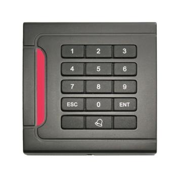 Leitor de proximidade EM com teclado para controle de acesso, externo