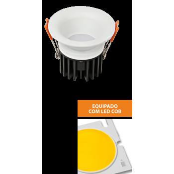 SPOT LED redondo encastrar 7W 4000K IP44
