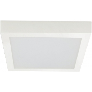Plafonier LED quadrado saliente 30x30cm 36W 4000K Policarbonato PLACA LED