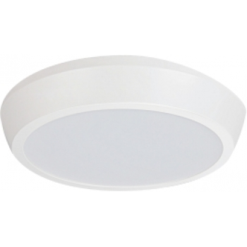 Plafonier LED redondo saliente Ø22,5cm 24W 4000K Policarbonato PLACA LED