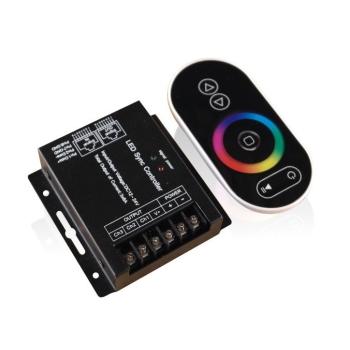 Controlador touch radio frequência para fita LED RGB