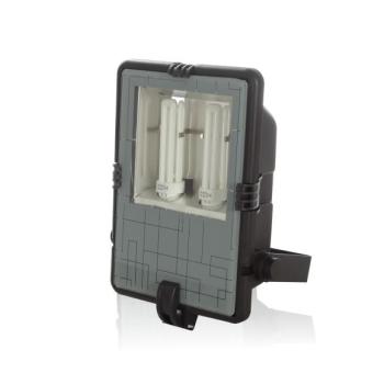 Projetor de baixo consumo 2X42W em fibra C/lâmpadas incluídas