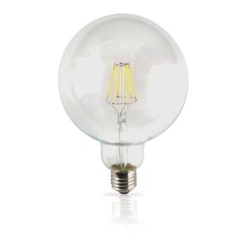 Lampada filamento LED 6W E27 3000K Vintage G125