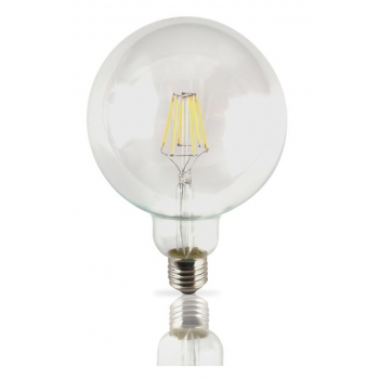 Lampada filamento LED 6W E27 3000K Vintage G95