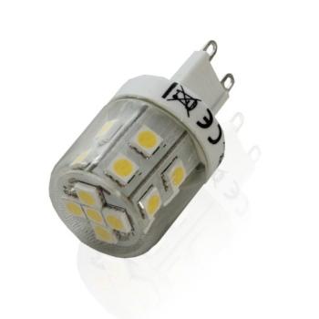 Lampada LED G9 2,2W 3000K