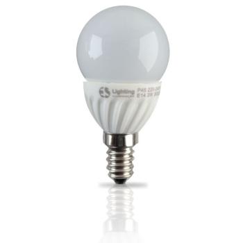 Lampada LED P45 E14 5W 3000K Cerâmica