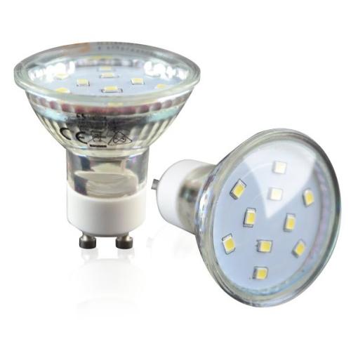 lampada led gu10 3w 3000k. Black Bedroom Furniture Sets. Home Design Ideas