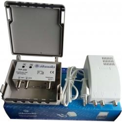 Kit amplificador TVF235 + alimentador AF-24V MANATA