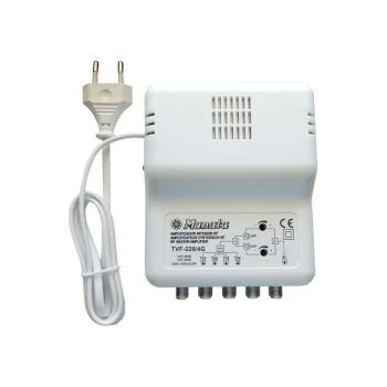 Amplificador de interior 1 entrada e 4 saídas c/via de retorno MANATA