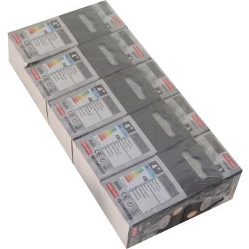 Pack 10 unidades Lampada LED GU10 4W 3000K Cerâmica