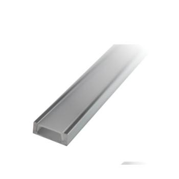 Perfil de alumínio saliente c/difusor