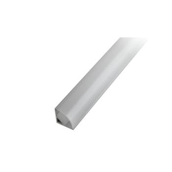 Perfil de alumínio de canto 90º c/difusor