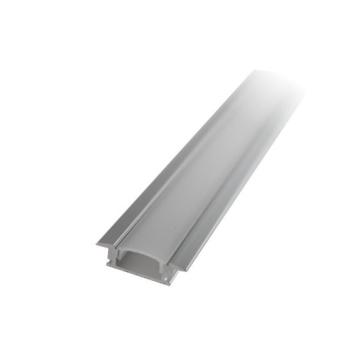 Perfil de alumínio de encastrar com difusor 2mt