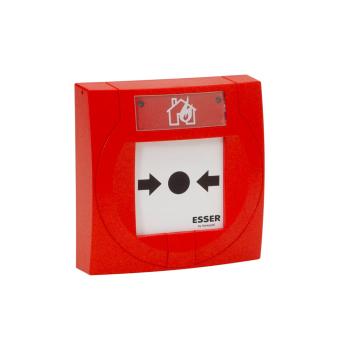 Botão de alarme manual compacto ESSER IQ8 com plástico flexível