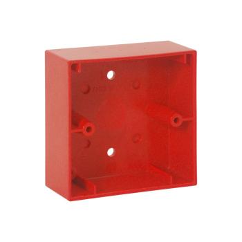 Caixa de montagem vermelha para botões analógicos Esser By Honeywell IQ8