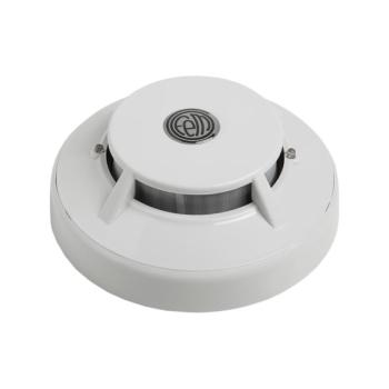 Detector de fumos com micro processador óptico para detecção de incêndio cofem