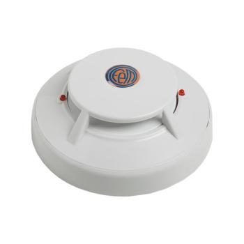 Detector térmico convencional para detecção de incêndio.