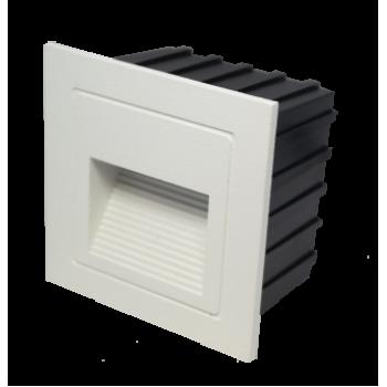 Aplique de muro LED 4W 4000K IP65 luz indirecta