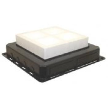 Caixa de encastrar para caixa de chão 16 módulos 83058 EFAPEL