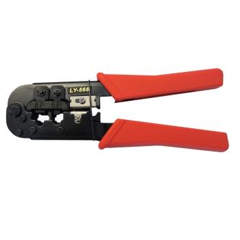 Alicate de cravação para fichas RJ45 e RJ11