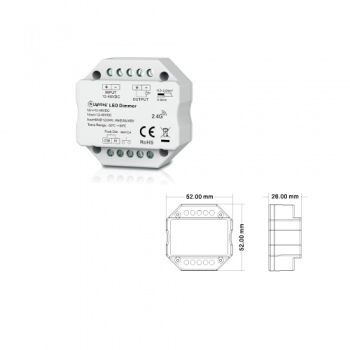 Controlador DIMMER RF 1CH ESL6902