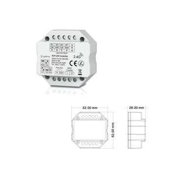 Controlador RGB / RGBW / CCT / DIM RF ESL6908
