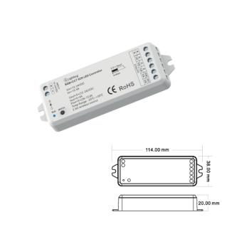 Controlador RGB + CCT RF ESL6909