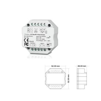 Controlador DIMMER AC TRIAC RF ESL6910
