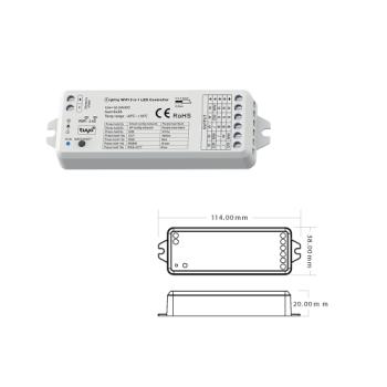 Controlador WIFI 5 em 1 ESL7901