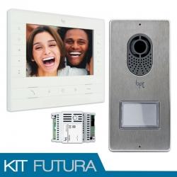Kit video porteiro FUTURA cores BPT X1 2fios